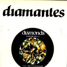 Libros de segunda mano: ERIC BRUTON :DIAMANTES (UNIVERSIDAD DE BARCELONA, 1983) MINERALOGÍA GEMOLOGÍA GEOLOGÍA. Lote 214436846