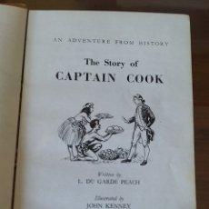 Libros de segunda mano: THE STORY OF CAPTAIN COOK. CAPITAN COOK. LADYBIRD HISTORY BOOK. EN INGLES. PRIMERA EDICION 1958. Lote 214461736