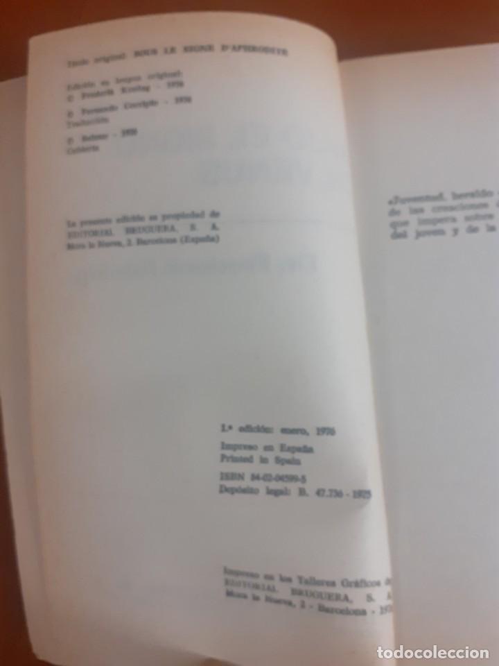 Libros de segunda mano: primera Edicion del Libro Bajo el signo de venus de Frederick Koning - Foto 3 - 214520683