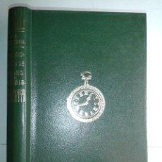 Libri di seconda mano: COLECCIONISMO DE RELOJES DE BOLSILLO 1982 JOSÉ MIGUEL ECHEVERRIA 2ª EDICIÓN EVEREST. Lote 214578793