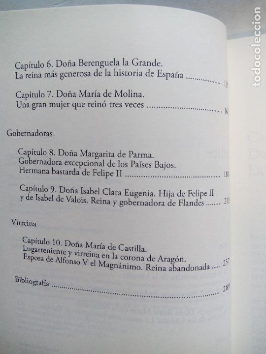 Libros de segunda mano: MUJERES CON PODER EN LA HISTORIA DE ESPAÑA. VICENTA MÁRQUEZ DE LA PLATA. EDICIONES NOWTILUS. 2018. - Foto 3 - 214581727