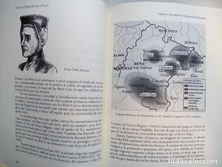 Libros de segunda mano: MUJERES CON PODER EN LA HISTORIA DE ESPAÑA. VICENTA MÁRQUEZ DE LA PLATA. EDICIONES NOWTILUS. 2018. - Foto 6 - 214581727