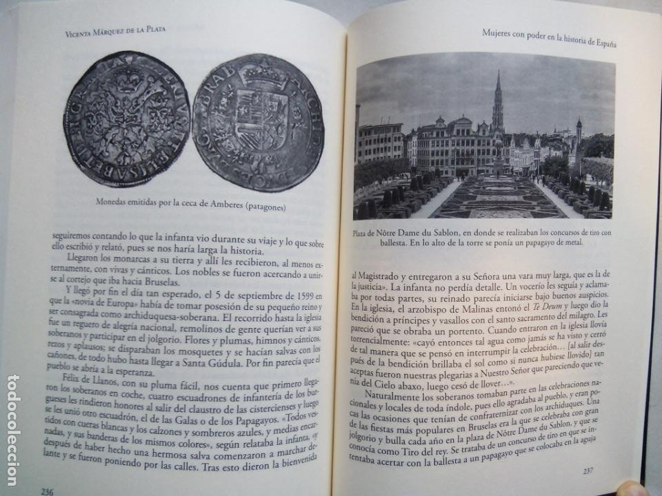 Libros de segunda mano: MUJERES CON PODER EN LA HISTORIA DE ESPAÑA. VICENTA MÁRQUEZ DE LA PLATA. EDICIONES NOWTILUS. 2018. - Foto 7 - 214581727