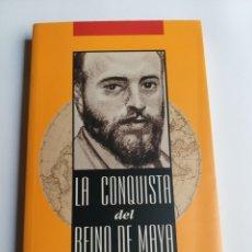Libros de segunda mano: LA CONQUISTA DEL REINO MAYA ÁNGEL GANIVET. Lote 214658561