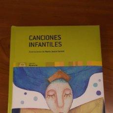 Libros de segunda mano: LIBRO DE CANCIONES INFANTILES CON ILUSTRACIONES. Lote 214706702