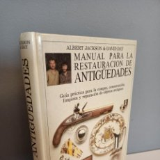Libros de segunda mano: MANUAL PARA LA RESTAURACION DE ANTIGUEDADES, CONSERVACION / CONSERVATION. Lote 214735947