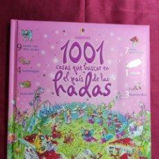 Libros de segunda mano: 1001 COSAS QUE BUSCAR EN EL PAIS DE LAS HADAS. GILLIAN DOHERTY. ILUSTRACIONES TERI GOWER. Lote 214767797