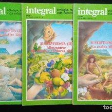 Livros em segunda mão: SUPERVIVENCIA I-II-III - EXTRA MONOGRÁFICO 5-6-7 - INTEGRAL - COMPLETO. Lote 263101520