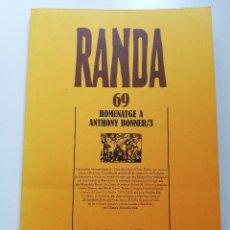 Libros de segunda mano: HOMENATGE A ANTHONY BONNER / 3 (RANDA 69) INSTITUT MENORQUÍ D'ESTUDIS. Lote 214909690