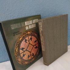 Libros de segunda mano: MUSEO DE BELLAS ARTES DE BILBAO, CRISANTO DE LASTERRA, AGUILAR (CON ILUSTRACIONES Y DIAPOSITIVAS). Lote 214923662