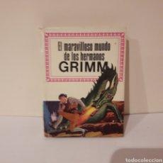 Libros de segunda mano: EL MARAVILLOSO MUNDO DE LOS HERMANOS GRIMM. MINILIBRO HISTORIAS INFANTIL. Lote 214944456