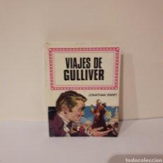 Libros de segunda mano: VIAJES DE GULLIVER. JONATHAN SWIFT. MINILIBRO HISTORIAS INFANTIL. Lote 214947076