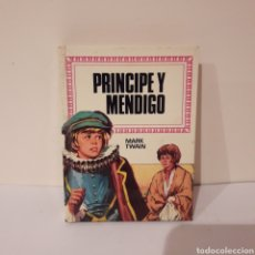 Libros de segunda mano: PRÍNCIPE Y MENDIGO. MARK TWAIN. MINILIBRO HISTORIAS INFANTIL. Lote 214947411