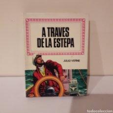 Libros de segunda mano: A TRAVÉS DE LA ESTEPA. JULIO VERNE. MINILIBRO HISTORIAS INFANTIL. Lote 214948632