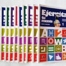 Libri di seconda mano: EJERCITA TU MENTE (OBRA COMPLETA, 10 TOMOS) | NAVARRO, ÀNGELS | EDITORIAL SOL 90, 2008. Lote 214999757