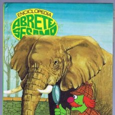 Libros de segunda mano: ENCICLOPEDIA ABRETE SESAMO EL LIBRO DE LA X - Y - Z. Lote 215078121