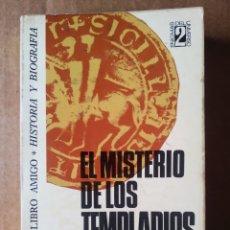 Libros de segunda mano: EL MISTERIO DE LOS TEMPLARIOS, POR LOUIS CHARPENTIER (BRUGUERA, 1975). COLECCIÓN LIBRO AMIGO N°134. Lote 215082536