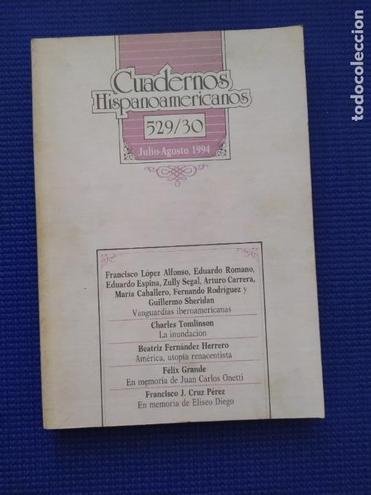 CUADERNOS HISPANOAMERICANOS 529 530 JULIO AGOSTO 1994 (Libros de Segunda Mano (posteriores a 1936) - Literatura - Otros)