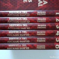 Libros de segunda mano: HISTORIA DEL ANTIGUO EGIPTO, JACQUES PIRENNE, 6 VOLS. COMPLETO, EDICIONES OCÉANO. Lote 215119537