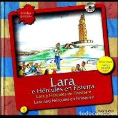 Libros de segunda mano: LENDAS GALEGAS. Nº 5. LARA E HERCULES EN FISTERRA. (INCLUYE CD AUDIO). GALICIA.. Lote 215204075