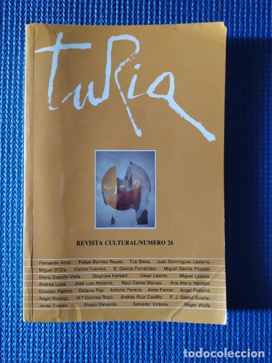 TURIA REVISTA CULTURAL 26 (Libros de Segunda Mano (posteriores a 1936) - Literatura - Otros)