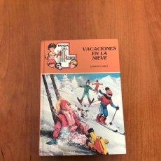 Libros de segunda mano: VACACIONES EN LA NIEVE. Lote 215275983
