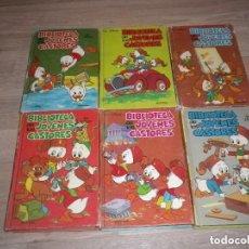 Libros de segunda mano: BIBLIOTECA DE LOS JOVENES CASTORES - WALT DISNEY - EDICIÓN MONTENA 6 LIBROS. Lote 215279886