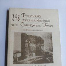 Libros de segunda mano: 248 PERSONAJES PARA LA HISTORIA DEL CONCEJO DE TINEO SENEN GONZÁLEZ TEMAS ASTURIANA. Lote 215295248