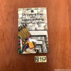 Libros de segunda mano: LAS CRIPTAS DE KAUA. Lote 215295543