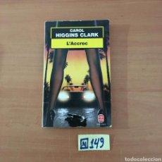 Libros de segunda mano: CAROL HIGGINS CLARK. Lote 215295805