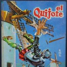 Libros de segunda mano: EL QUIJOTE – EDICIÓN ESCOLAR DE LUIS CASASNOVAS – ILUSTRADA POR VALBUENA, EVEREST, 1971. Lote 215299920