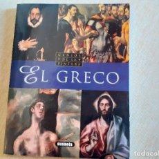 Libri di seconda mano: GENIOS DE LA PINTURA - EL GRECO - EDITORIAL SUSAETA. Lote 215304646