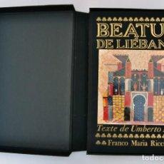 Libros de segunda mano: BEATUS DE LIEBANA, TEXTO DE UMBERTO ECO (EN FRANCES), FRANCO MARÍA RICCI. Lote 215361412