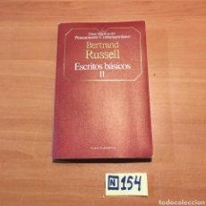 Libros de segunda mano: BERTRAND RUSSELL. Lote 215403741