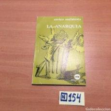 Libros de segunda mano: LA ANARQUÍA. Lote 215457653
