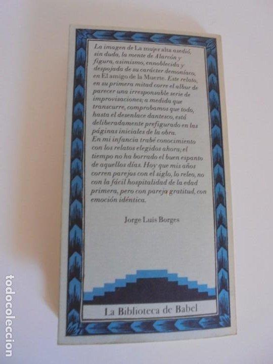 Libros de segunda mano: EL AMIGO DE LA MUERTE. PEDRO ANTONIO DE ALARCON. BIBLIOTECA DE BABEL. SIRUELA - Foto 14 - 215546576