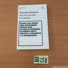 Libros de segunda mano: QUE ESTÁ PASANDO EN CATALUÑA. Lote 215547377