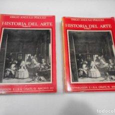 Libros de segunda mano: DIEGO ANGULO IÑIGUEZ HISTORIA DEL ARTE ( 2 TOMOS) Q2457T. Lote 215552048