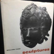Libros de segunda mano: SCULPTURES AFRICAINES DE WILLIAM FAGG, FERNAND HAZAN EDITEUR 1965 ILUSTRADO EN FRANCÉS. Lote 215817440