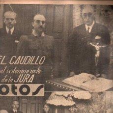 Libros de segunda mano: REVISTA FOTOS GUERRA CIVIL Nº 50 - 1 FEBRERO 1938. Lote 215916207