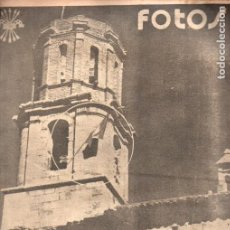 Libros de segunda mano: REVISTA FOTOS GUERRA CIVIL Nº 58 - 2 ABRIL 1938. Lote 215916580