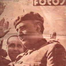 Libros de segunda mano: REVISTA FOTOS GUERRA CIVIL Nº 124 - 15 JULIO 1939. Lote 215918133