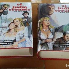 Libros de segunda mano: EL JUDIO ERRANTE - EUGENIO SUE - 2 TOMOS - EDITORS Ñ404. Lote 216376451