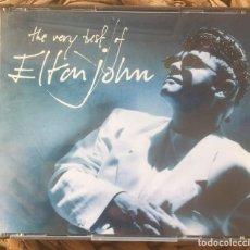 Libros de segunda mano: THE VERY BEST OF ELTON JOHN - 2 CD ROCKET RECORD COMPANY/PHONOGRAM 1990. Lote 216435162
