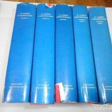 Libros de segunda mano: VV.AA EL ATEISMO CONTEMPORANEO 4 TOMOS (EN 5 VOLÚMENES) Q2504T. Lote 216441190