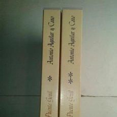 Libros de segunda mano: EL LIBRO DE PUENTE GENIL I Y II 1985 ANTONIO AGUILAR Y CANO FACSÍMIL DE 1894 EDITA DIPUTACIÓN PROV.. Lote 216603170