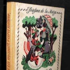 Livres d'occasion: CUENTOS DE LA MAMA PARA NIÑAS. JOSEFINA DE LA MAZA. M. AGUILAR EDITOR. AÑOS 50.. Lote 216643782