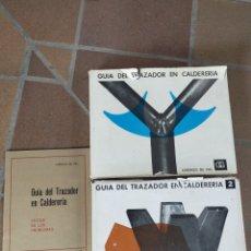 Libros de segunda mano: GUÍA DEL TRAZADOR EN CALDERERIA. Lote 216661626