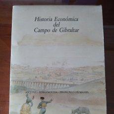 Libros de segunda mano: HISTORIA ECONÓMICA DEL CAMPO DE GIBRALTAR. CÁDIZ. 1989. 4 VOLÚMENES. COMPLETA. TARIFA. ALGECIRAS.. Lote 216756048