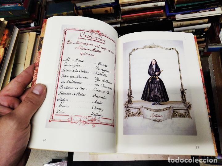 Libros de segunda mano: TRAJES DE LA ISLA DE MALLORCA. CRISTÓBAL VILELLA. JOSÉ J. DE OLAÑETA,EDITOR. 2000. UNA JOYA!!!!! - Foto 12 - 216786638